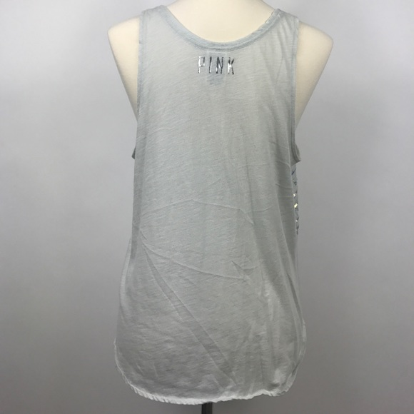 """Shop Women's PINK Victoria's Secret White Pink size XS Tank Tops at a discounted price at Poshmark. Description: Slightly Used """"LET'S NOT TACO 'BOUT IT"""" tank By Victoria's Secret PINK. Sold by levina. Fast delivery, full service customer support."""