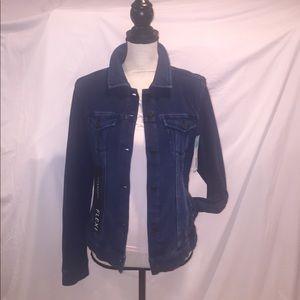 Liverpool Jeans Company Jackets & Blazers - Liverpool Classic Dark Blue Jean Jacket NWT
