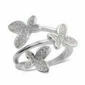 Jewelry - 💘STERLING SILVER BUTTERFLY RING💘