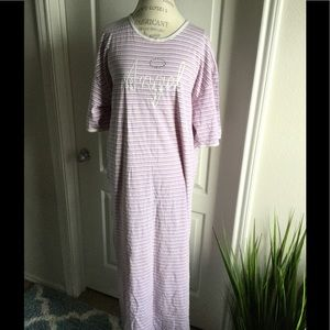 Other - angel night gown XL striped