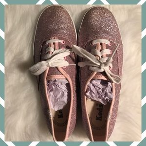 Pink SPARKLY Keds Sneakers size 6 💎SPARKLY💎