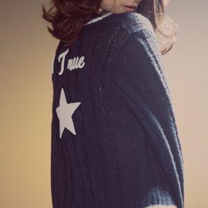 Wildfox Sweaters - Wildfox a True Star School House Cardigan