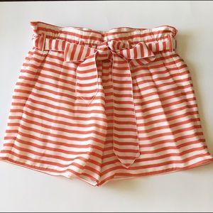 Armani Collezioni Pants - Armani Collezioni Nautical Striped Shorts.  6