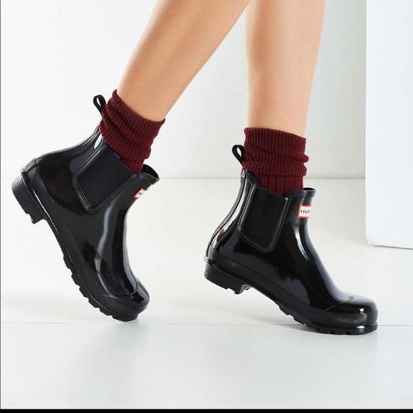 Hunter Shoes Sold Chelsea Rain Boots Purple Poshmark