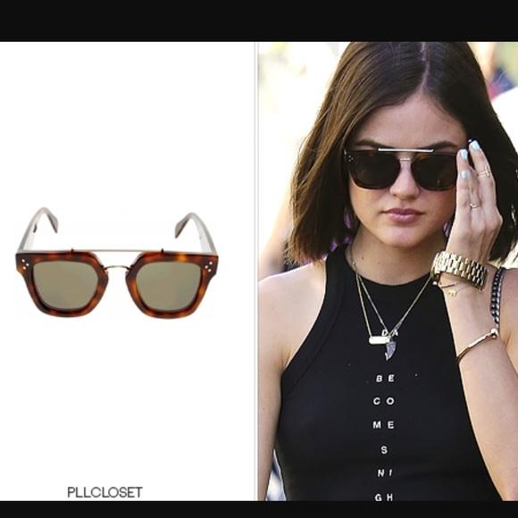 9c926399f78 Celine Accessories - Celine Bridge sunglasses