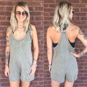 Olive Casual Romper