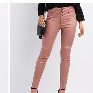 Charlotte Russe Denim - Tan high waisted pants👖