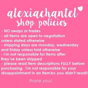 Other - ✨PLEASE READ BEFORE PURCHASING✨