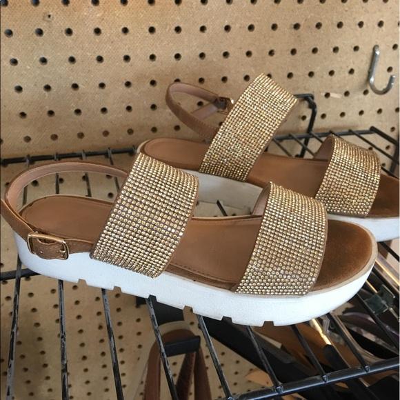 Aldo Shoes - Aldo Eowenna Rhinestone Sandals size 5