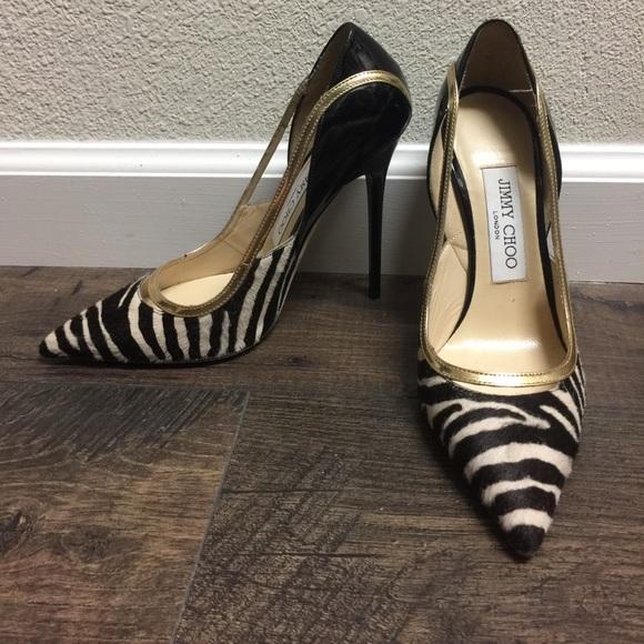 Brand New Jimmy Choo Animal Print Heels