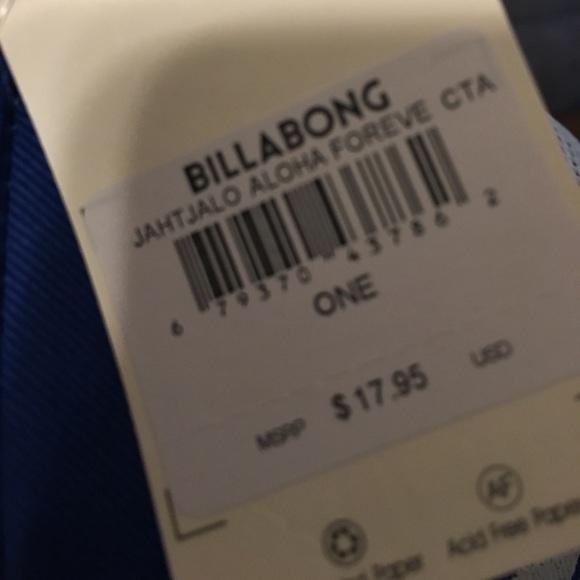 Billabong Accessories - NWT  Billabong Trucker Hat
