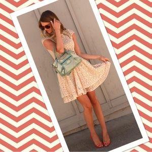 Paper Crown Dresses & Skirts - NWOT Paper Crown Lace Cap Sleeve Dress