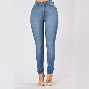 Fashion Nova Denim - High Waisted Fashion Nova Jeans