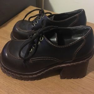 Soda Shoes - Soda Brown clogs size 6