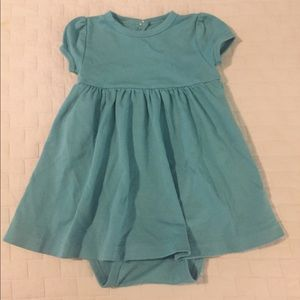 Primary Other - Primary.com teal baby dress, 18-24