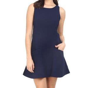 Navy Pocket dress