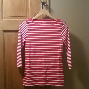 Merona Tops - Merona red and white stripped top. Size XS.