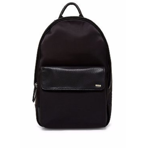 Calvin Klein Bags   New Black Cotton Nylon Backpack   Poshmark 6c23b53ba1