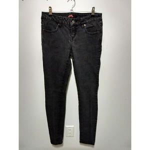Forever 21 Denim - Forever 21 dark grey skinny jeans