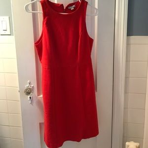 Gap shift dress in Poster Red
