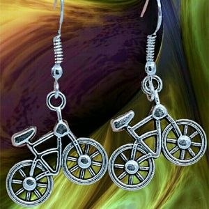 Jewelry - Bicycle Party Earrings