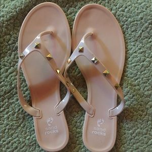 Shoes - Studded jelly sandals