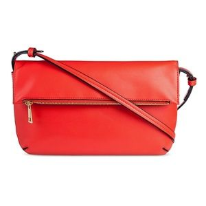 Merona Handbags - MERONA clutch with crossbody strap