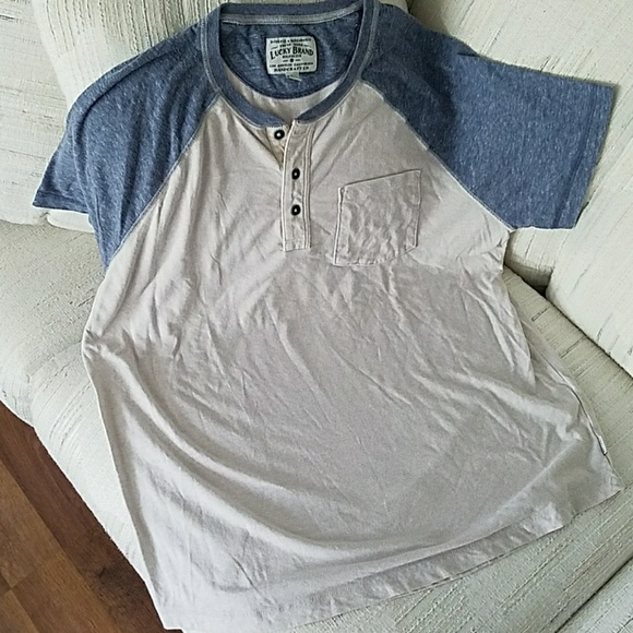 63 off lucky brand other mens large lucky brand button for Lucky brand button down shirts