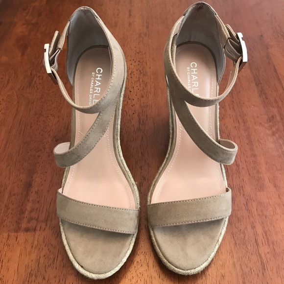 Charles By Charles David Becki Women S Shoes Taupe  M