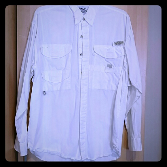 Columbia fly fishing shirt by columbia sportswear from for Button down fishing shirts