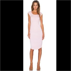 Monrow Dresses & Skirts - AUTH MONROW PERM COLL PINK BC MIDI PENCIL DRESS S