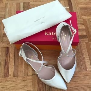 Kate Spade New York Satin Flats