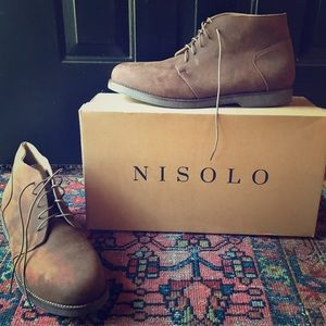 Nisolo Other - Men's Nisolo leather chukka boots size 10.5