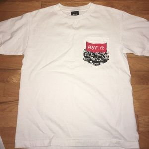HUF Other - HUF Peace Woodstock White Pocket T-Shirt Small