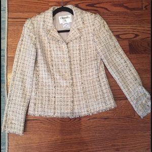Chanel tweed blazer
