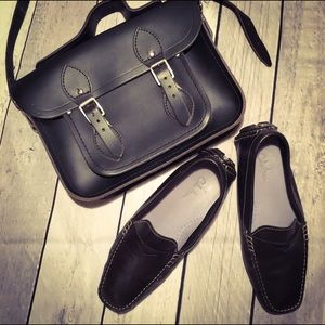 "The Cambridge Satchel Company Handbags - Cambridge Satchel Company 11"" Black Leather Bag"