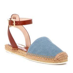 Louise et Cie 'Frida' Ankle Strap Flat Espadrilles