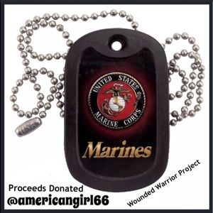 Other - MARINE CORPS 🇺🇸💯 Dog Tag