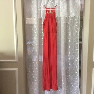 Lily Rose Dresses & Skirts - Coral Maxi Dress