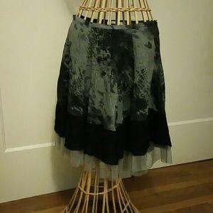 Lauren Vidal Dresses & Skirts - Lauren Vidal  black and white skirt