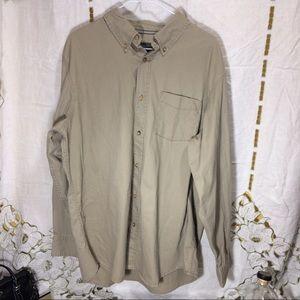 Covington Other - Covington tan Button Up shirt nwot