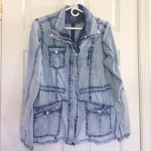 Ashley By 26 International Jackets & Blazers - Washed Denim Jacket
