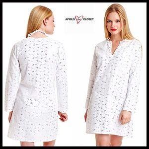 Coverup Embellished Boho Tunic Dress