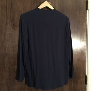 COS Tops - Cross over v-neck shirt