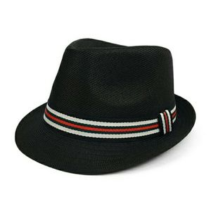 Westend Other - Black Multi Colored Band Fedora