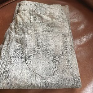 Chico's Denim - Chico's brand Leopard Jeans