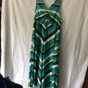 Anthony Richards Dresses & Skirts - Bright striped 2X maxi dress
