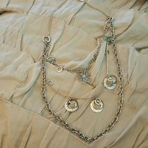 Teired Chain Necklace