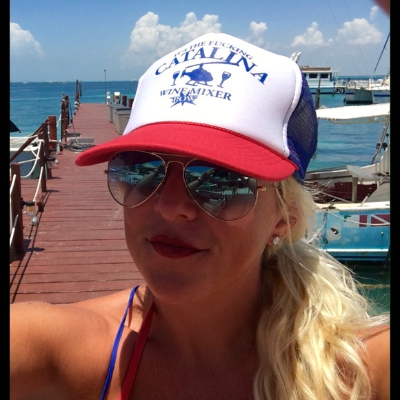 It's The F@?king Catalina Wine Mixer Trucker Hat Boutique