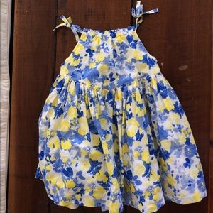 GAP Other - Blue Floral Baby Gap Dress